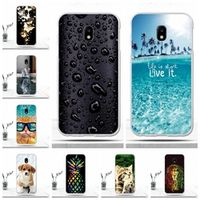 "XOPIG Cover 5.0"" Silicone Soft Cases for Samsung Galaxy J3 2017 j330F Fundas"