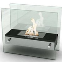 SUNFLAME Bio ethanol fireplace FD49 with stainless steel burner