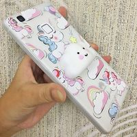 XINKSD Phone Case For Samsung Galaxy Grand Prime G530 3D Cute Soft Silicone Squishy