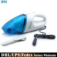 (Wholesale) 20pcs/lot T004 Car Wet And Dry Vacuum Cleaner Car Vacuum Cleaner