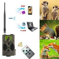UnionCam GSM MMS GPRS trail camera hc 300m Suntek with 940nm Night vision LEDs