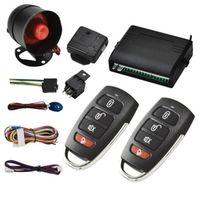 itracksafe Universal 1-Way Vehicle Car Alarm System Protection Security Keyless Entry
