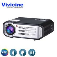 Vivicine Best Home Theater LED 1080p Projector Optional Android 6.0.1 WIFI Multmedia