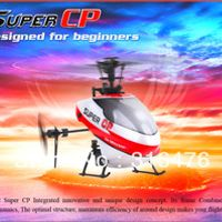 HCDSKY NEW Walkera Super CP Flybarless 6CH 3D 3G RC Helicopter BNF no transmitter