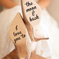 ROWNOCEAN Quotes I Love You Moon Back Decal Sticker
