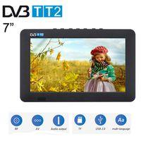 Leadstar 7inch Portable Television LED HD Digital Analog AC3 TV MP4 MP3 Player USB