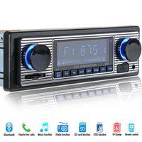 HIEI 12V Bluetooth Car Radio Player Stereo FM MP3 USB SD AUX Audio Auto Electronics