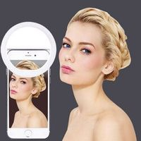 FGHGF Selfie Portable Flash Led Camera Phone Ring Light Enhancing Photography