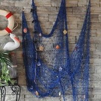 ZOOYOO 1 Pcs Fishing Net For Home Decor Hangings