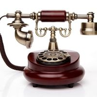 BINYEAE Rotating disk fashion antique telephone vintage old household