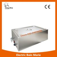 KOUWO Electric Buffet Hot Soup Food Warmer 1 Pan Bain Marie