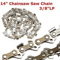 "MTGATHER Meatal Chainsaw Chain 18"" Blade 62 Section 3/8"" LP  Saw Chain Accessory For Generic New Arrival"