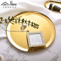 Adous Nordic modern minimalist golden jewelry metal