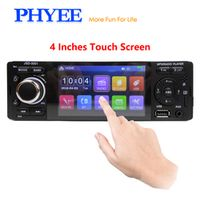 "PHYEE 4"" Capacitive Touchscreen Car Radio Audio Bluetooth Autoradio Stereo MP5 MP4"