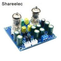 Shareelec HIFI vacuum tube Preamplifier board electronic valve amplifier ac12v