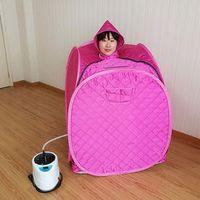 Sauna steam box Portable Steam Sauna room Tent Steamer Family sauna weight loss Beneficial skin capacity 2L power 1000W