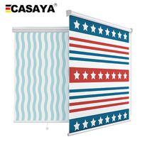 CASAYA Digital roller blinds Mediterranean Stripe printing