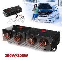 KROAK 12V 150W/300W Auto Travel Heater Heating Warmer Thermostat Fan Window Defroster