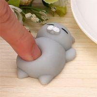 CARPRIE Cute Mochi Squishy Cat Squeeze Healing Fun Kids Kawaii Toy Gift