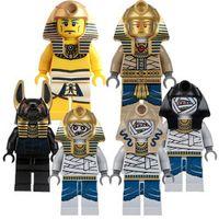 CZHY Egyptian Anubis Mummy Building Blocks Figures