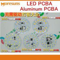 MoreSunsDIY Fast MCPCB LED Aluminum Components Procurement