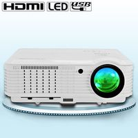 CAIWEI 4500 Lumens LCD LED Cinema Projector Home Theater Video For Movie Game TV