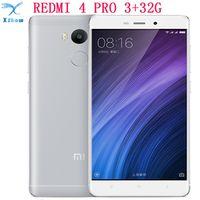 """Xiaomi Redmi 4 PRO 4 4100mAh Battery Fingerprint ID Snapdragon 625 Octa Core 5"""" 720P"""