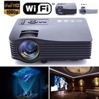 MVpower 2018 UC28A Mini Portable HD Multimedia LED Projector Home Theater Support