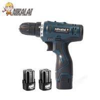 nikalai 16.8V lithium battery*2 1350r/min Torque cordless electric screwdriver drill