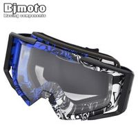 BJMOTO Unisex Adults Sonnenbrille Windproof Motocross Glasses Ski Colorful Cycling