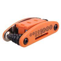 ROBESBON 15 in 1 Multifunction Bicycle Hex Wrench Screwdrivers Key MTB Repair Tool