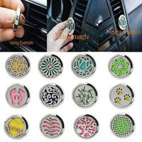 kongyide interior Perfume folder Stainless Car Air Auto Vent Freshener