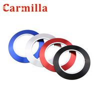 Carmilla Key Push Button Start Stop Ignition Ring Cover Sticker for Ford Ecosport