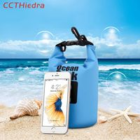 CCTHiedra New PVC Waterproof Case Bag Phone Pouch For iPhone X 8 8 Plus 7 7P 6 6s For Samsung Galaxy S8 S7 S6 Universal
