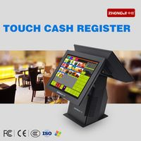 ZHONGJI Aliexpress hot sale Touch 15 inch Retail Touch Screen POS System All in one