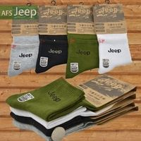 Afs Jeep Brand Summer Autumn Men And Women Casual Socks Cotton Sweat Absorb Breathable Deodorant Socks Black White Green Gray