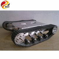 Metal Track Version! Big load Carry 8~10KG/Metal Tank Car Chassis/All Metal Structure,Big Size/Obstacle-surmounting Tank Car