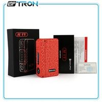 100% Original DOVPO MVV VV Box Mod 18650 Vape Box Mod With 4 LED Indication Lights Mechanical Mod compatible for 18650 Battery