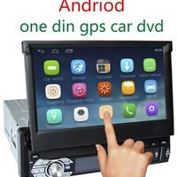 Universal One 1 Din Car DVD Android  Auro Stereo Player GPS Navigation Radio Bluetooth Support DVR OBD WIFI USB SD Free Map