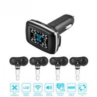 vvcesidot TP620 Wireless Smart Car TPMS 12V Digital Tire Pressure Monitoring System