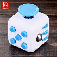 FANFUZI Decompression Rubik's cube toy fidget spinner six