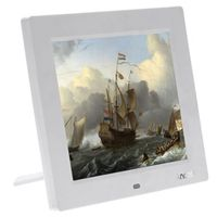 Andoer 8'' HD TFT-LCD Photo Frame Digital Support Calender Clock MP3 MP4 Movie Player