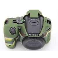 High Quality Camera Bag Case Cover for Nikon D5500 D5600 Lightweight Protective Cover  Camouflage