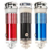 CATUO 2018 Mini 12V Car Auto Fresh Air Purifier Oxygen Bar Ionizer Cleaner Red Color