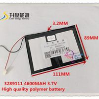 3.7V 4600mAH 3289111 Polymer lithium ion / Li-ion battery for tablet pc cell phone