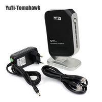 BMTomahawk 4 Port USB 2.0 Printer Share 4 USB HUB Devices 100Mbps Network Over