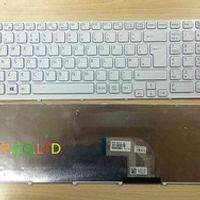 White --Replacement UK Keyboard for Sony Vaio SVE1511, SVE151C11M,SVE151G11M keyboard, SVE151G13M 149094311GB keyboard