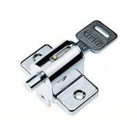 2pcs  Window lock sliding window lock with key child safety protection lock anti-theft door lock push window