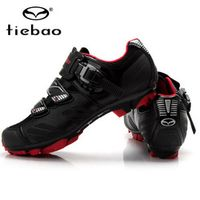 tiebao Cycling Shoes Mountain Bicycle Racing Self-Locking sapatilha zapatillas