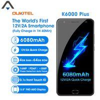 Oukitel K6000 PLUS 4G LTE smartPhone Octa Core 5.5 inch 4GB RAM 64GB ROM Android 7.0